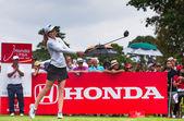 Paula Creamer Usa sleduje míč po hity — Stock fotografie