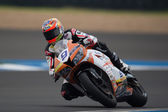 Qualifying at the Supersport World Championship — Foto de Stock
