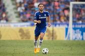 Branislav Ivanovic no.2of Chelsea in action — Stock Photo