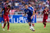 Nemanja Matic of Chelsea in action — Stock Photo
