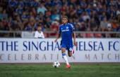 Charlie Musonda of Chelsea in action — Stock Photo