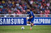 Diego Costa of Chelsea in action — Stock Photo