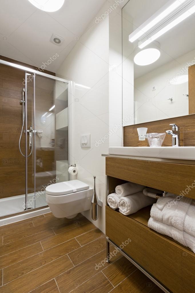 럭셔리 호텔 욕실 인테리어 — 스톡 사진 © rilueda #112412620