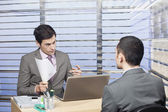 Challenging job interview — Stock Photo