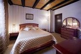 Hotellets rum interiör — Stockfoto