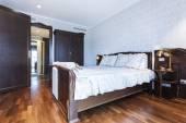Classic style bedroom interior — Stock Photo