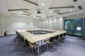 Modern boardroom interior — Stock Photo
