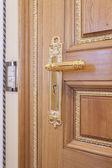 Luxury decorative door knob — Stock Photo