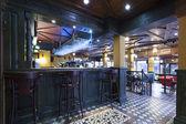 Modern pub interior — Stock Photo