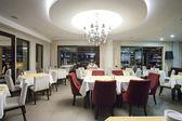 Zarif restoran iç — Stok fotoğraf