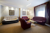 Living room in apartment — ストック写真
