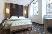 Interno camera da letto moderna — Foto Stock