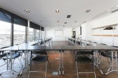 Modern conference room interior — Stockfoto