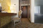 Modern hotel room interior — Stock Photo