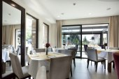 Elegant restaurant interior — Fotografia Stock