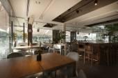Stijlvolle café interieur — Stockfoto