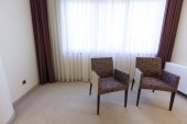Two chairs in a room — Stock fotografie