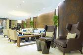Elegant hotel lobby — Foto de Stock