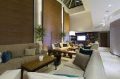 Elegantní hotel lobby — Stock fotografie