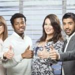 Successful international business team — Stock Photo #62864327