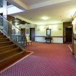 Corridor and stairs in elegant hotel — Stock Photo #64288141