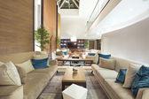 Elegant hotel lobby — Stock Photo