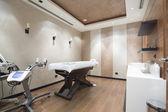 Massage room at modern spa center — Stock Photo