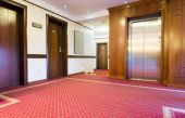 Výtah v hotelu — Stock fotografie
