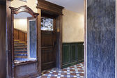 Corridor in a pub — Stock Photo