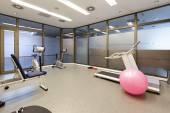 Malá tělocvična interiér — Stock fotografie