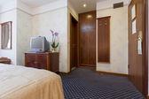 Interior do quarto de Hotel — Fotografia Stock