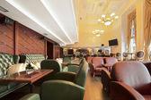 Luxury cafe interior — Stock Photo