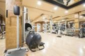 Novi Sad, Serbia - 03.11.2015. Best Western Prezident Hotel Gym — 图库照片