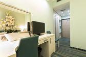 Interiér pokoje hotelu — Stock fotografie