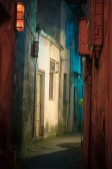 Ancient alleyway street — Stock Photo