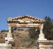 Arch in ancient city Ephesus — Stockfoto