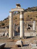 Columns in ancient Ephesus — Stockfoto