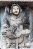Chinese stone statue — Stock Photo