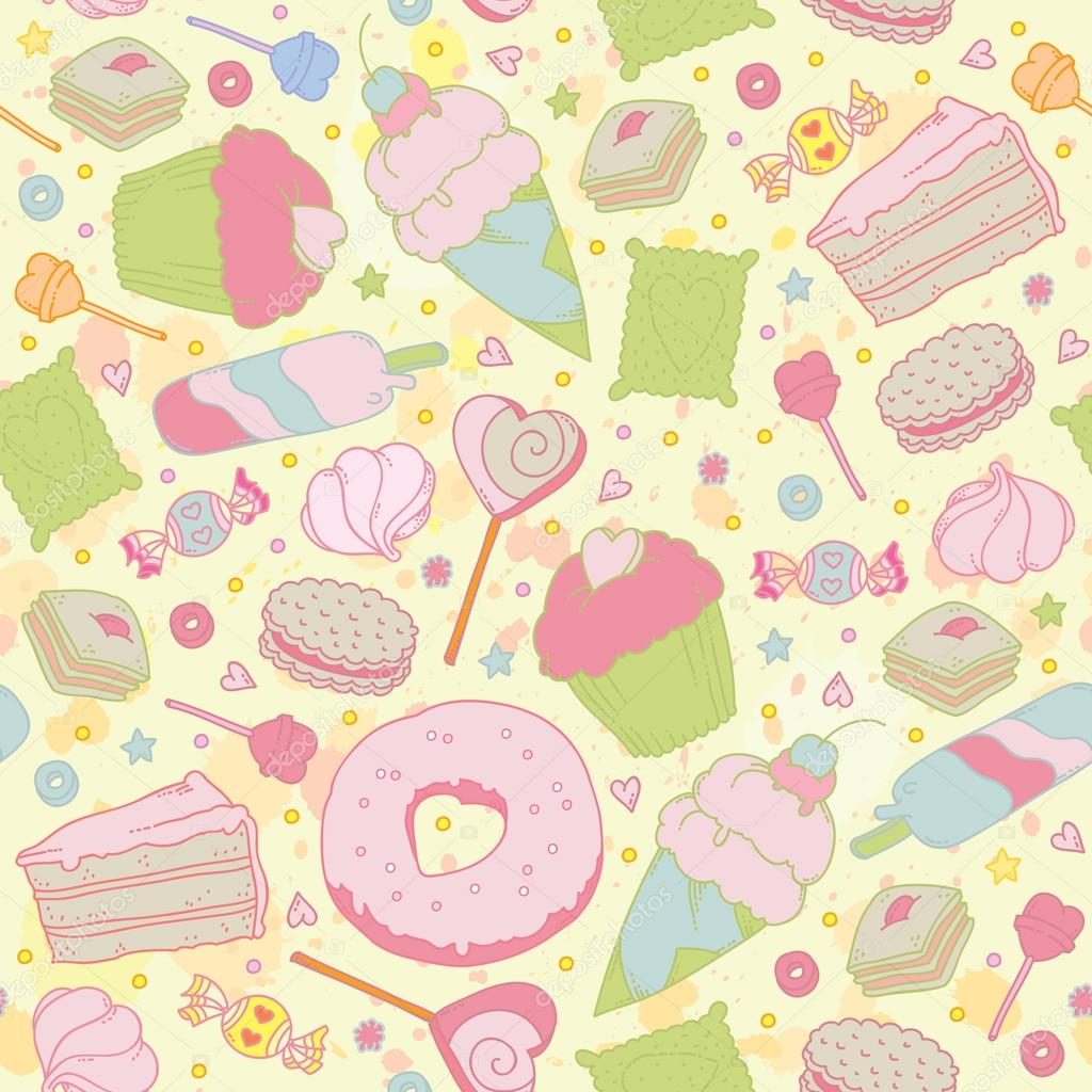 Fruit Cake Wrapping Paper