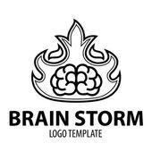 Brainstorm — Stock Vector