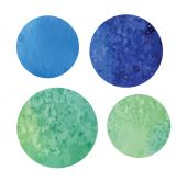 Vectorized watercolor background round shape — 图库矢量图片