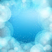 Christmas background with lights. Vector image — Stock Vector