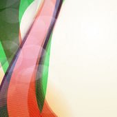 Abstract vector colorful wave background — 图库矢量图片