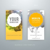Vector abstract creative business card template. Eps10 — Vector de stock