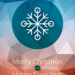 Christmas greeting card, icons and symbols, christmas tree, snowflakes, gift box, santa elements vector background — Stock Vector #59145569