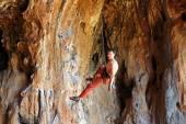 Rock klimmer — Stockfoto