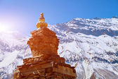 Stupa in Nepal — Stock Photo