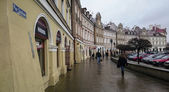 Old town in the city center of Lublin — Stock Photo