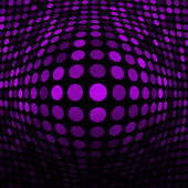 Abstract Violet Technology Background — Vector de stock