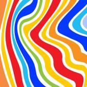 Fundo listrado colorido — Vetorial Stock